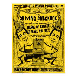 Weasley und weasley Produkte Postkarte
