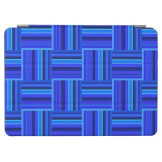 Webartmuster der blauen Streifen iPad Air Cover