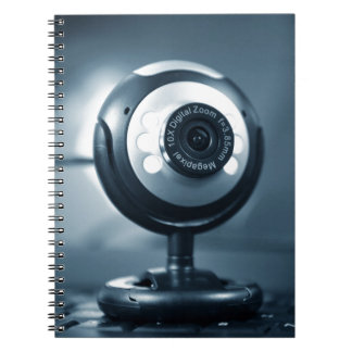 Webcam Spiral Notizblock