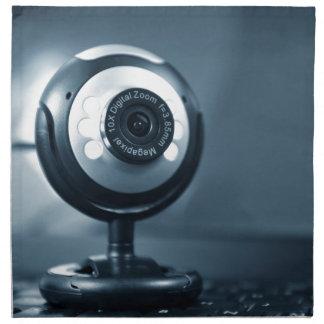 Webcam Stoffserviette