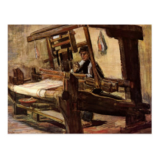 Weber durch Vincent van Gogh Postkarte