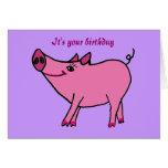 WECHSELSTROM, alles- Gute zum Geburtstagschwein-Gr
