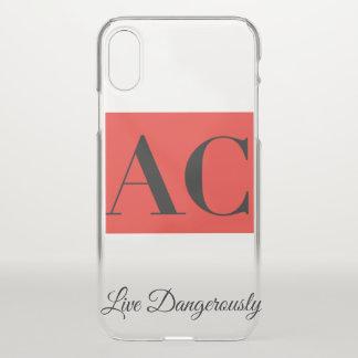 Wechselstrom-Kleidungs-Logo und Motto iPhone Fall iPhone X Hülle