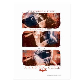 Wechselstrom-Plakat - alles Postkarte
