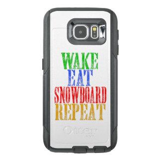 WECKEN SIE ESSEN SNOWBOARD-WIEDERHOLUNG