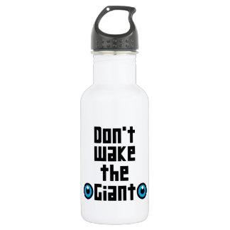 Wecken Sie nicht den Riesen Trinkflasche