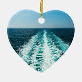 Wecken Sie von einem Kreuzfahrt-Schiff Keramik Ornament