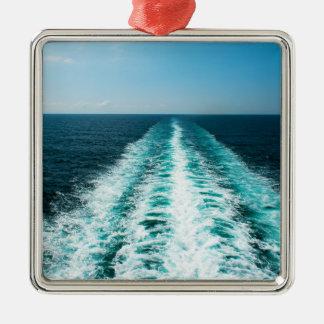 Wecken Sie von einem Kreuzfahrt-Schiff Silbernes Ornament