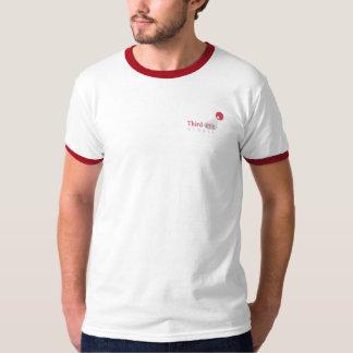 Wecker des drittes Augen-globaler Logo-2-Sided T Shirt