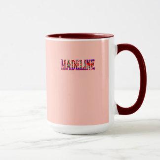 Wecker-Kaffee-Tasse Madeline rote Tasse