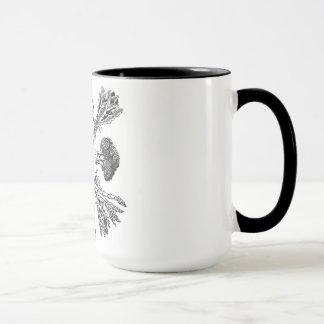 Wecker-Tasse mit dem HandDrawn veganen Tasse