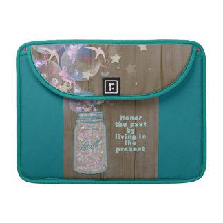 Weckglas-Ehre die Vergangenheit durch das Leben im Sleeve Für MacBook Pro