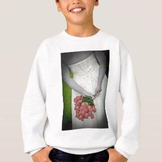 WedBackViewRosesBWR091810 Sweatshirt