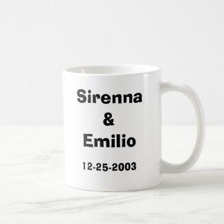 Wedding 2003, Sirenna&Emilio, 12-25-2003 Kaffeetasse