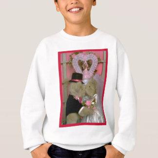Wedding Bären unter einem Herzen Sweatshirt