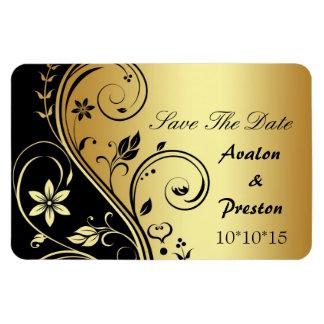 Wedding BlumenSave the Date Magnet