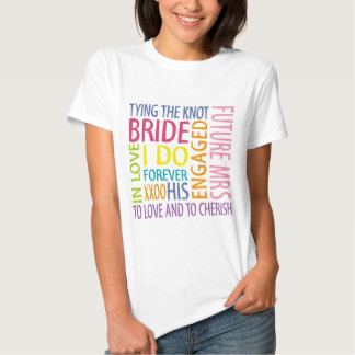 Wedding Braut-Gefühle Tshirts