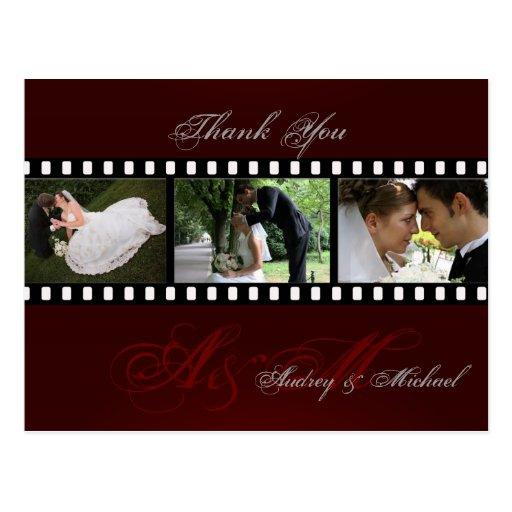 Wedding danken, die Ihnen, fügen Postkarten Ihre F