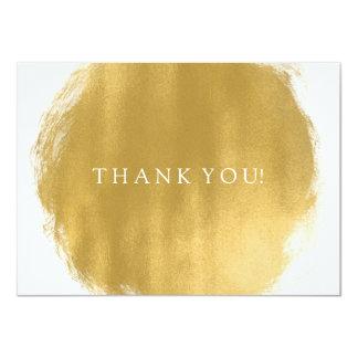 Wedding danken Ihnen, Goldfarben-Blick zu merken 11,4 X 15,9 Cm Einladungskarte