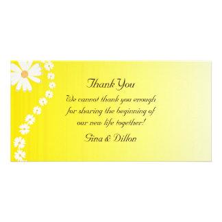 Wedding danken Ihnen Karten Foto Karte