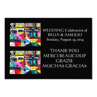Wedding danken Ihnen, - Tag der Toten zu merken Individuelle Einladungskarte