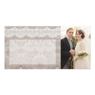 Wedding danken Ihnen zu kardieren Personalisierte Photo Karte