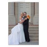 Wedding danken Ihnen zu merken Grußkarte