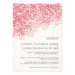 Wedding Einladungen der Rosey Licht-Duschen-|