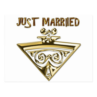 Wedding Entwurf Postkarte