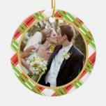 Wedding | erste WeihnachtsFoto-Verzierung Weihnachtsbaum Ornamente