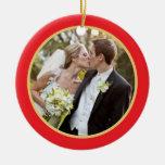 Wedding | erste WeihnachtsFoto-Verzierung Weinachtsornamente