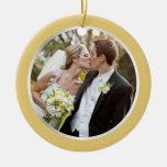 Wedding | erste WeihnachtsFoto-Verzierung Ornamente