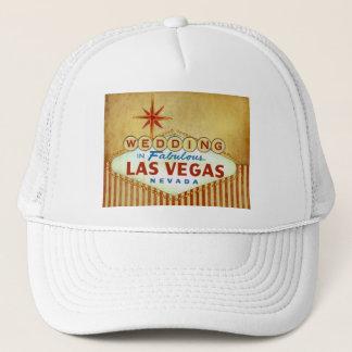 Wedding in fabelhaftem Las Vegas - Vintage Truckerkappe