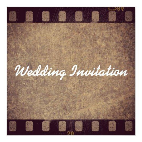 Wedding Invitation Quadratische 13,3 Cm Einladungskarte