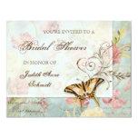 Wedding Les Fleurs 10,8 X 14 Cm Einladungskarte