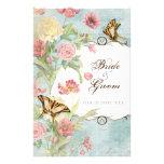 Wedding Les Fleurs 14 X 21,6 Cm Flyer