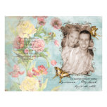 Wedding Les Fleurs 21,6 X 27,9 Cm Flyer