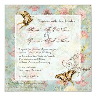 Wedding Les Fleurs Einladungen