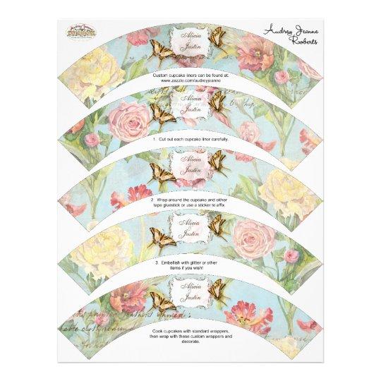 Wedding Les Fleurs Flyer