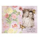 Wedding Les Fleurs Pfingstrosen-Rosen-Tulpe-Blumen Individuelle Flyer