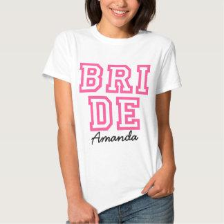 wedding, personalisiertes Brautt-stück T Shirt