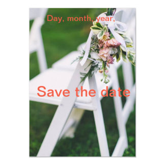 Wedding Save the Date Karte