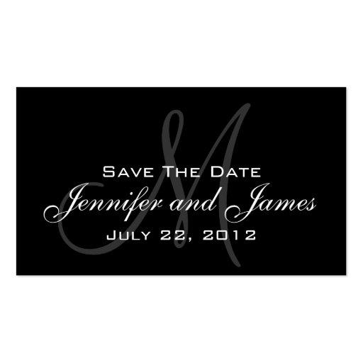 Wedding Save the Date Website-Karte Visitenkarte