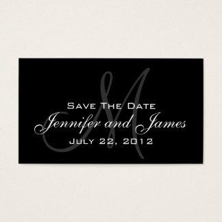 Wedding Save the Date Website-Karte Visitenkarten