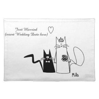 WeddingCats Tischset