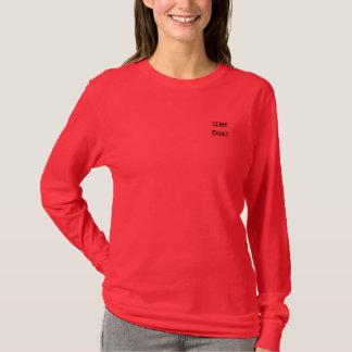 WeeBoat (die lange Hülse der Frauen T) T-Shirt