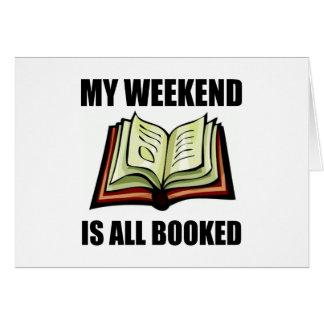 Weekend gebuchte alle karte