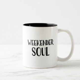 Weekender-Soul-Tasse Zweifarbige Tasse