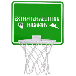 Weg375 Extraterrestrial-Landstraße Mini Basketball Ring
