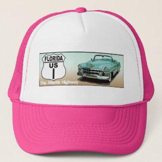 Weg 1 Floridas US - die atlantische Landstraße Truckerkappe